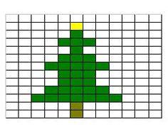 Christmas tree pattern2