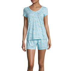 CHAPS Women/'s Sanibel Island AQUA Polka-Dot Notch Collar Sleep Shirt Size 1X NWT