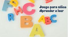 juego para niños que estimularan al niño en su aprendizaje con las letras del abecedario y lo prepararán en el camino de la lectura de una forma amena.