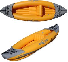 Friday Harbor Adventure S1 Inflatable Kayak is easy to bring along and store! Weighs under 16 lbs.