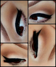 thick liquid liner on lid! if only i could do this
