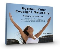 Learn how to address the root causes of your vision issues with Natural Vision Training - why go for LASIK surgery when you can try this holistic alternative? http://products.mercola.com/vision-program/