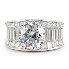 Image result for wide diamond bands