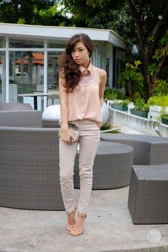 Petite Fashion Bloggers ::  Thirstythought by Kryz Uy :: pretty pastels