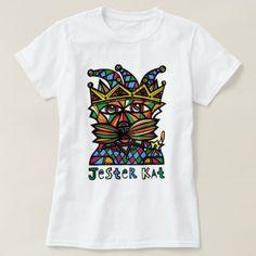 """#women - #""""Jester Kat"""" Womens' T-Shirt"""