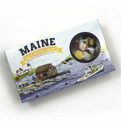 Maine salt water taffy for wedding guest gifts #maine #weddings