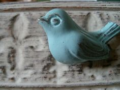 Cute little ceramic bird.
