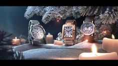 """Cartier Watches: """"Cartier Winter Tale"""" TV Commercial by…"""