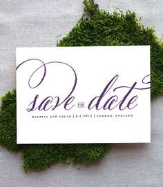 Hey, I found this really awesome Etsy listing at https://www.etsy.com/listing/95924720/modern-calligraphy-save-the-date