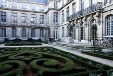architecture and garden image