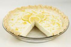 Sour Cream Lemon Pie Sour cream mellows out the tart flavor of lemons in this p Cheesecake Tarts, Pie Recipes, Sour Cream, Sweet Treats, Lemon, Yummy Food, Desserts, Cheesecakes, Houston
