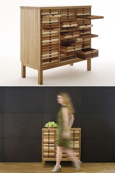 Wooden chest of drawers SIXTEMATIC COLLECTOR by Sixay Furniture | #design Szikszai László @sixay furniture furniture
