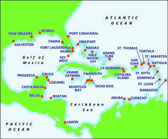 Carnival Cruise destinations.... sweet! Ahhhh!!! We love cruises!!! We've done 4 Carnival Cruises & had a fabulous time at each one... I do recommend a balcony room though.. It's nice having your own private outdoor space ; )