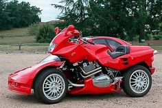 Ferrari Motorcycle | Unusual Ferrari Car-Motorcycle