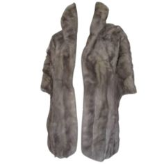 This beautiful vintage stole is made of grey color mink.With 2 pockets and silk lining.The condition is good, it has wear at the lining.about 160 cm/ inch.Please note that vintage items are not new and therefore might have minor imperfections. Vintage Fur, Vintage Items, Mink Stole, Mink Fur, Im Not Perfect, Gray Color, Fur Coat, Grey, Pockets