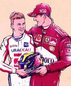 Mick Schumacher, Michael Schumacher, Ferrari, Haas F1 Team, The Mick, Sand Rail, Crying Man, F 1, Formula One