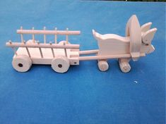 Prasiatko z vozíčkom / LadislavKurnota - SAShE. Wooden Toys, Wooden Toy Plans, Wood Toys, Woodworking Toys