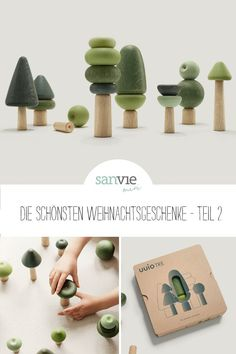 The most beautiful Christmas gifts - idea 2 (sanvie mini) - Basteln - Holzspielzeug - # Diy For Kids, Crafts For Kids, Wooden Animals, Montessori Toys, Learning Toys, Wood Toys, Diy Toys, Toys For Girls, Beautiful Christmas