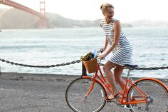 looking good, feeling good and having a good time. #bike #fashion # cyclechic
