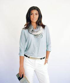 Pastels for fall: Is that cool with you? These frosting-colored options (sweet deals, by the way) are on trend and easy to wear.
