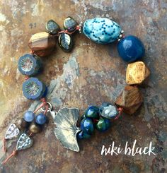 Singin' the Blues - Just listed at www.legally-boho-jewelry.com. Check it out!