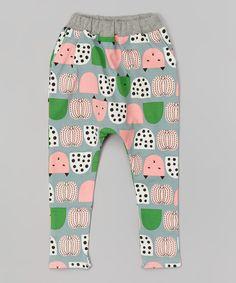 Gray Cat Harem Pants