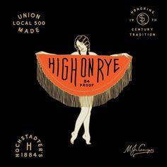 Get high on rye. #drinkslowabdlow #whiskey #highonrye @land_boys by drinkslowandlow