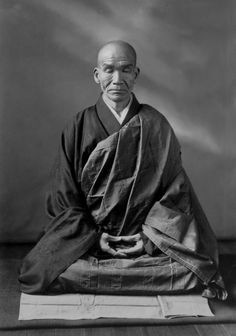 "Japanese Zen monk, Kodo SAWAKI 澤木興道老師 (1880-1965) - He is known for his rigorous emphasis on zazen, in particular the practice of shikantaza, or ""just sitting"". He often called Zen ""wonderfully useless,"" discouraging any gaining idea or seeking after special experiences or states of consciousness."