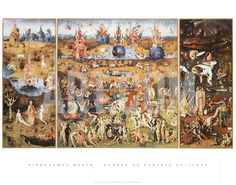 The Garden of Earthly Delights, 1504 Art Print by Hieronymus Bosch at Art.com