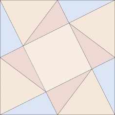 Choose from Two Sizes when You Sew Kansas Star Quilt Blocks | How ... : twisted star quilt block - Adamdwight.com