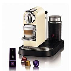Kaffemaskin:  NESPRESSO, CITIZ & MILK D120 CREAMY WHIT