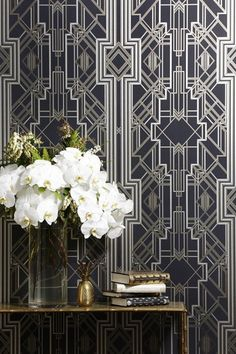 Agatha O | UPHOLSTERY, DRAPERY WALLPAPER – metropolis collection from james dunlop textiles