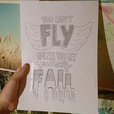 Justin Bieber Fall lyric art by Miasdrawings on Etsy, $5.00