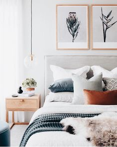 Bedroom Inspo The bedroom of - Architecture and Home Decor - Bedroom - Bathroom - Kitchen And Living Room Interior Design Decorating Ideas - Home Decor Bedroom, House Interior, Bedroom Decor, Bedroom Interior, Home, Cheap Home Decor, Bedroom Inspirations, Home Bedroom, Home Decor