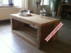 #Salontafel Joy van #steigerhout