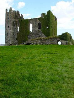 Castillo de Ballycarbery en el Kerry Ring
