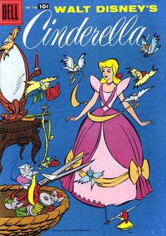 Walt Disney's Cinderella — 1965 comic book