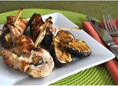 Grilled Fig-Stuffed Pork Chops
