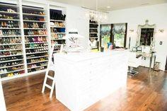 Inside Kaley Cuoco's huge, super-organized closet