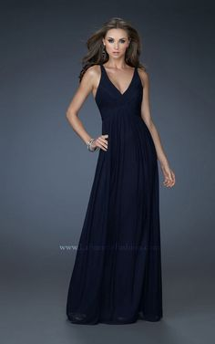 Navy Bridesmaid Dress, this cut would look great on everyone I think. Need to find in different colors