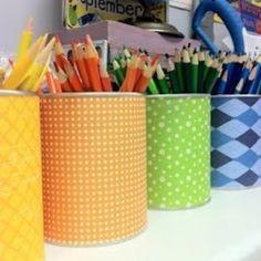 Organize kids' art/craft supplies