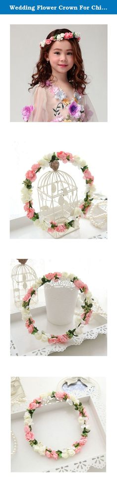 Wedding Flower Crown For Children Princess Performances Wreath Baby Girl Garland (1pcs). Flower Crown Child Princess Performances Wreath Baby Girl Wedding Garland(1pcs) Style: Europe Material: Plastic / Resin Category: crowns, crown Styles: Children Modeling: Flowers Occasions: souvenir, wedding, employee benefits Color: pink white wreath Note: Due to the difference between different monitors, the picture may not reflect the actual color of the item. We guarantee the style is the same as...