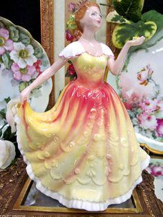 ROYAL DOULTON Figurine DEBORAH FIGURE OF THE YEAR HN3644 NADA M. PEDLEY in   eBay