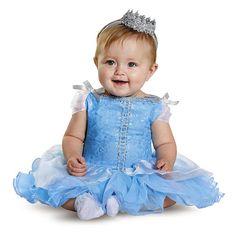 Disney Princess Infant Girls Prestige Cinderella Halloween Costume - Disguise…