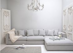 Best Corner Sofa Styles big family sized sofa for living room. Light grey to brighten up the spacebig family sized sofa for living room. Light grey to brighten up the space Living Room Sofa, Home Living Room, Living Room Furniture, Living Room Decor, Living Area, Dining Room, Best Corner Sofa, Corner Sofa Design, Grey Corner Sofa