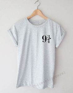 Platform 9 3/4 Harry Potter Shirt Tumblr by chicachicapparel                                                                                                                                                                                 More