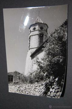 FOTOGRAFÍA DE LA IGLESIA DE LA FEBRO 1965 ANTES DE SER REFORMADO 9 X 12