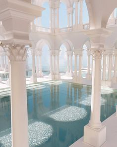 Dream Home Design, Fantasy Landscape, Art And Architecture, Future House, Aesthetic Wallpapers, Interior And Exterior, Beautiful Places, Scenery, Room Decor