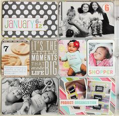 Project Life Week 8 by Posh Little Memories #projectlife