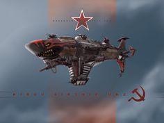 Airship Kirov MK2 by ~KaneNash on deviantART